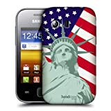 Head Case Designs Liberty American Pride Hard Back Case Cover for Samsung Galaxy Y S5360