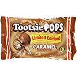 Tootsie Limited Edition Caramel Pops, 12.6 oz Bags in a Gift Box (Pack of 3 Bags)