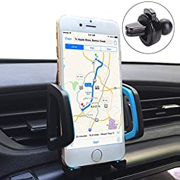 Car Phone Mount,U-good Universal 360 Rotating Air Vent Cell Phone Holder Stand Car Accessories w/ A Quick Release Button For iPhone Samsung Galaxy Note and More