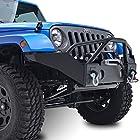 E-Autogrilles 51-0358 07-15 Jeep Wrangler JK R6 Front Bumper