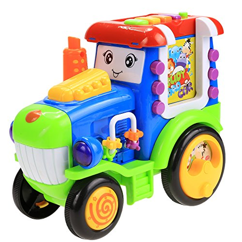 Arshiner-Pull-and-Learn-Alphabet-Digital-Light-Music-Car-for-Toddlers