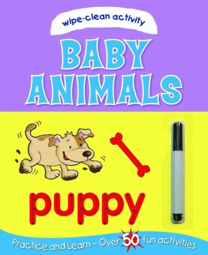 Baby Animals (Wipe-Clean Activity Book)
