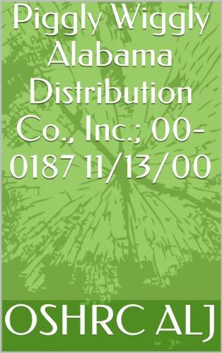 piggly-wiggly-alabama-distribution-co-inc-00-0187-11-13-00-english-edition