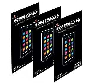 LG L70 Dual Screen protector, Scratch Guard No Rainbow Effect [Screenward] (Pack of 3) Screen Protector Scratch Guard For LG L70 Dual