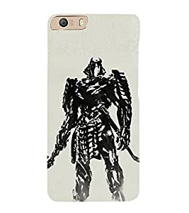 EPICCASE Wolverino ninja Mobile Back Case Cover For Micromax Canvas Knight 2 E471 (Designer Case)