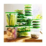 Ikea Foodsaver Containers Set of 17 Green