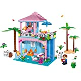 Ace Middle-sized Building Blocks Stacking Block Sets Building Toys - B00RL5VCK4