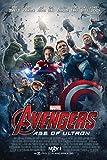 映画 アベンジャーズ エイジ・オブ・ウルトロン Avengers: Age of Ultron ポスター 約90x60cm アイアンマン キャプテン アメリカ ハルク ソー ホークアイ ブラック ウィドウ [並行輸入品]