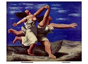 Amazon.com: Deux Femmes Courant Sur La Plage - Poster by Pablo Picasso (31 x 26): Prints ...