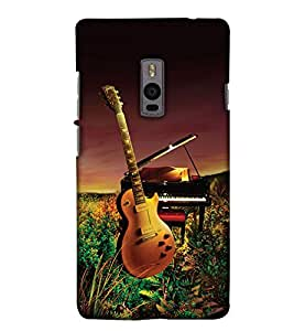 Print Haat Back Cover for One Plus Two (Multi-Color)