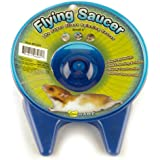 Ware Flying Saucer Small Pet Exercise Wheel, 5-Inch, Small, Colors may vary