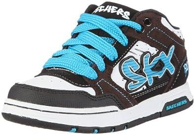 Skechers EndorseAsher, Jungen Sneakers, Weiß (WCHT), 28 EU