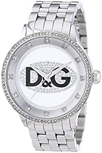 D&G DW0131 - Reloj Unisex movimiento de cuarzo con brazalete metálico plata de D&G TIME
