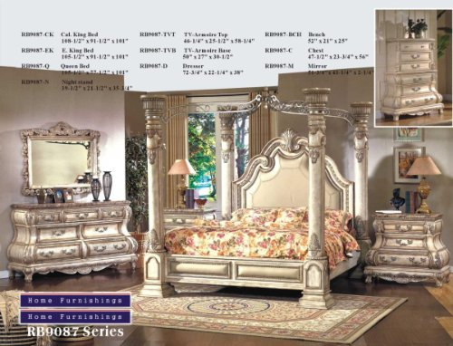 King Size Canopy Bedroom Sets 164258 front
