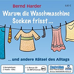 warum die waschmaschine socken frisst 7 cds mp3 cd und andere r tsel des alltags. Black Bedroom Furniture Sets. Home Design Ideas