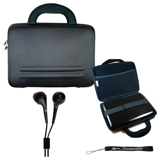 Sony Dvpfx950 9-Inch Portable Dvd Player Nylon Traveling Case, Ebigvalue Hand Strap Key Chain And Earphones Headphones 3.5Mm Jack
