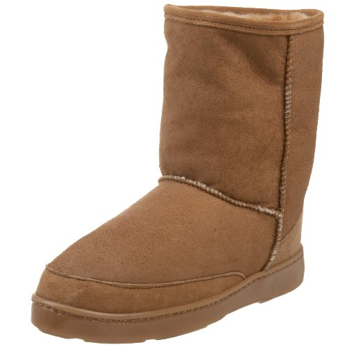 Minnetonka Men's Short Sheepskin Pug Boot