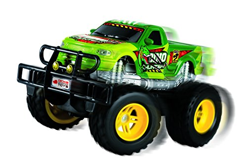 Dickie-Toys-201119077-RC-Dino-Hunter-funkferngesteuerter-Monstertruck-inklusive-Batterien-19-cm