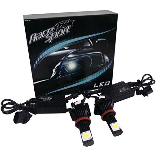 Race Sport H11-Led-G1-Kit 5,000K True Led Headlight Conversion Kit (H11 Base)