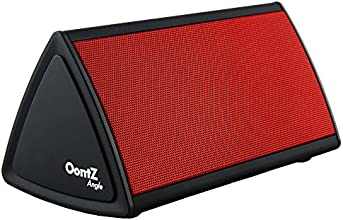 Cambridge SoundWorks OontZ Angle Enhanced Edition Ultra Portable Wireless Bluetooth Speaker - Matte Black with Red Grille