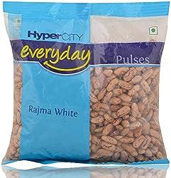 Hypercity Everyday Pulses - Rajma White, 500g Pack