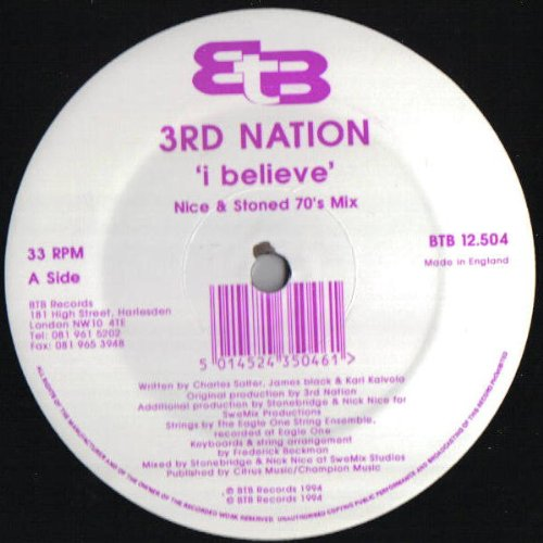 I Believe 3Rd Nation