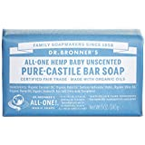 Dr Bronners Magic Soap All One Obba05 5 Oz Baby Mild Dr. Bronner'S Bar Soap (Pack of 3)