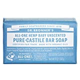 Dr. Bronners Bar Baby Mild Unscented 5oz. Soap (3 Pack)