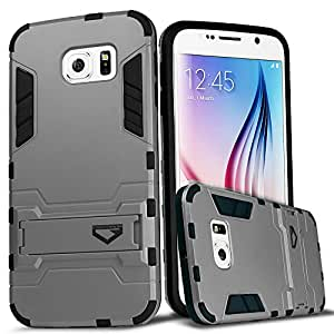 Galaxy S6 Edge Plus Case, CASEFORMERS Ultra Slim S6 Edge Plus Armor Case for Samsung Galaxy S6 Edge Plus [Shockproof Case] - Glacier Silver
