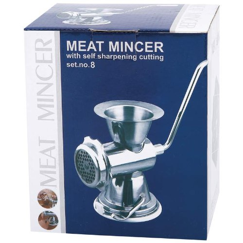 Maxam® Chrome Professional and Home Meat Mincer Maxam® Chrome Professional and Home Meat Minc