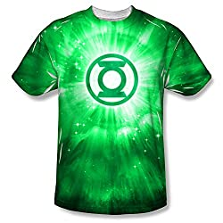 Green Lantern Energy All Over Print Front T-Shirt