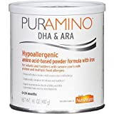 PurAmino Hypoallergenic 14.1 ounce Amino Acid Based Powdered Formula with Iron 2PC