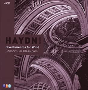 Haydn : Divertimentos pour instruments à vent (Coffret 4 CD)