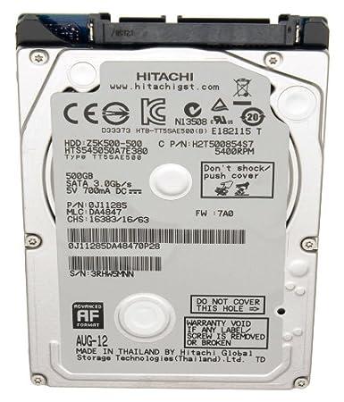 "Dell disque dur pour ordinateur portable dell inspiron 7720 série 2,5 ""500Go sATA iI"
