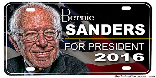 Bernie Sanders For President 2016 License plate