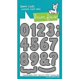 Lawn Fawn - Lawn Cuts - Quinns 123s Dies by Lawn Fawn