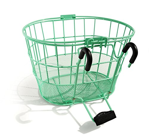 Why Should You Buy Colorbasket Mesh Bottom Lift-Off Bike Basket, Green