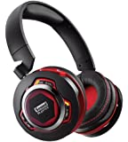 Creative Sound Blaster EVO ZxR Bluetooth NFC Active Noise-cancelling Headphones with iOS Android App control for Built-in Audio Processing and mic (works with PS4)