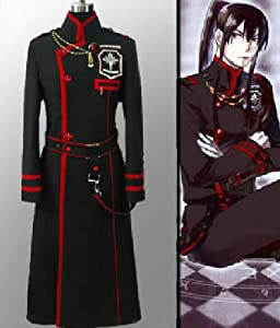 Xcoser Yu Kanda Cosplay Costume Exorcist Clothing for D Gray-Man Cosplay in Large