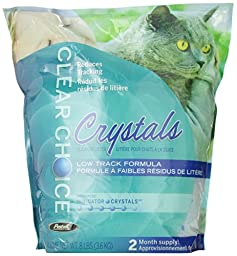 Clear Choice Silica Crystals Cat Litter Bag, 8-Pound