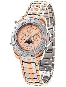 Amazon.com: Yves Camani Platon Rosegold Gents Watch: Watches