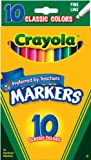 Crayola 10ct Classic Fine Line Markers