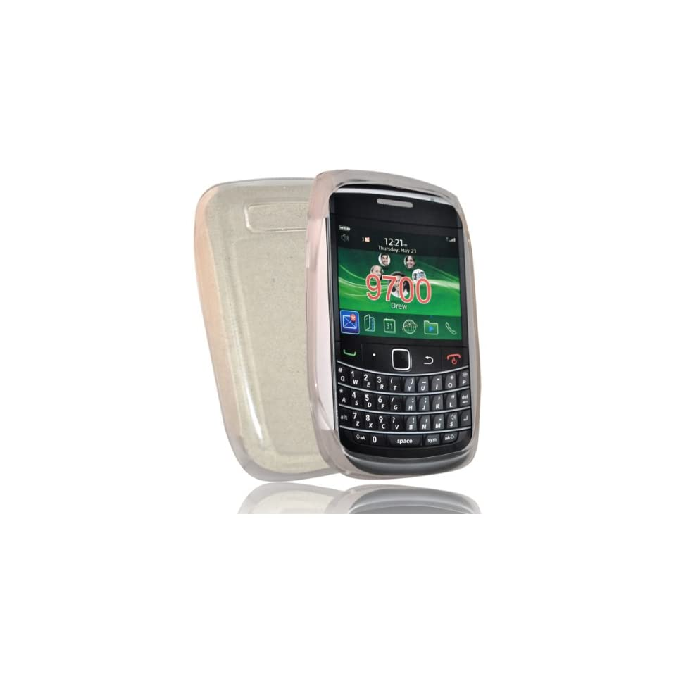 mobile palace  White gel case cover pouch holster for blackberry bold 9780