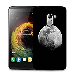 Snoogg Abstract Grey Moon Designer Protective Phone Back Case Cover For Lenovo Vibe K4 Note