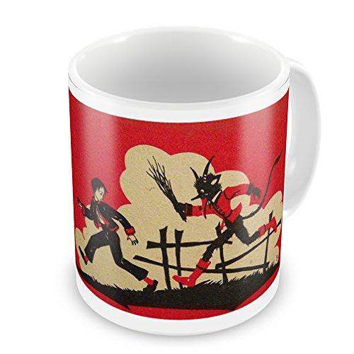 Coffee Mug Krampus / Knecht Ruprecht - Neonblond
