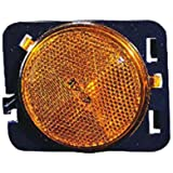 OE Replacement Jeep Wrangler/Sahara Front Driver Side Marker Light Assembly (Partslink Number CH2550127)