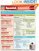 Spanish Fundamentals 1 (Quickstudy: Academic)