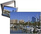 Photo Jigsaw Puzzle Of Bayfront Marina, Sarasota, Florida, United States Of America, North America