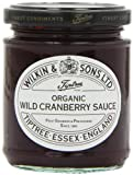 Tiptree Organic Wild Cranberry Sauce 210 g (Pack of 6)