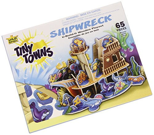 65 Piece Tiny Towns Shipwreck